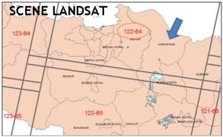 Scne Landsat 122-64